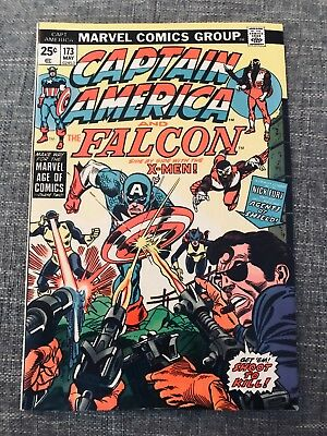 Captain America And The Falcon #173 (May 1974, Marvel) Great Comic Book - 02453