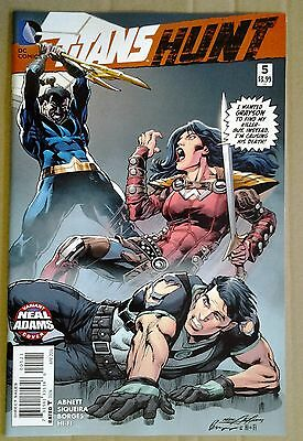 Titans Hunt #5 Dramatic Neal Adams Variant Cover. Collect All 25. Apr 2016 Nm/m