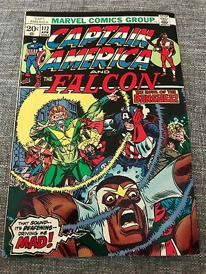 Captain America And The Falcon #172 (Apr 1974, Marvel) Great Comic Book - 02453