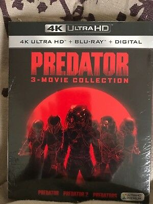 4K Ultra HD Predator 3 Movie Collection