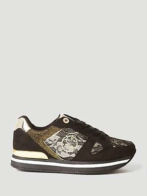 SCARPA SNEAKERS DONNA GUESS RUNNER DAMEON PIZZO Codice  FLDA44LAC12 ... d7640eae6d6