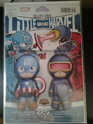 GIANT-SIZE LITTLE MARVEL A vs X #1 CUTE SKOTTIE YOUNG ACTION FIGURE VARIANT NM/M