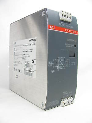 ABB, CP-C 24 / 5.0, Switch Mode Power Supply, 24 VDC, 5 AMP, Good Condition
