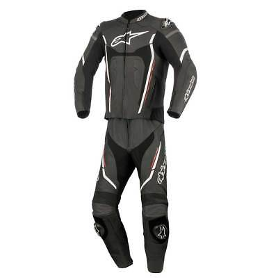 Alpinestars Motegi V2 Two Piece Leather Suit Black / Red / White