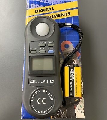 Lutron LM-81LX Pocket Sized Light Meter with battery