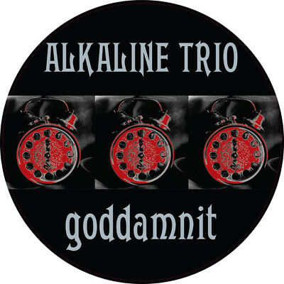 Alkaline Trio - 'Goddamnit 20th Anniversary Picture Disc' (Vinyl LP Record)