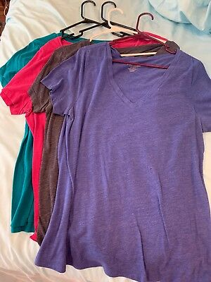 Lot Of 4 Old Navy Vintage V-neck T-shirt Extra Large
