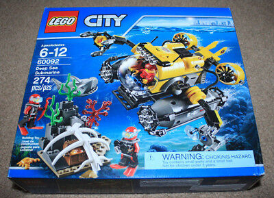 Lego City Deep Sea Submarine 60092. New in a sealed box. Retired. 274