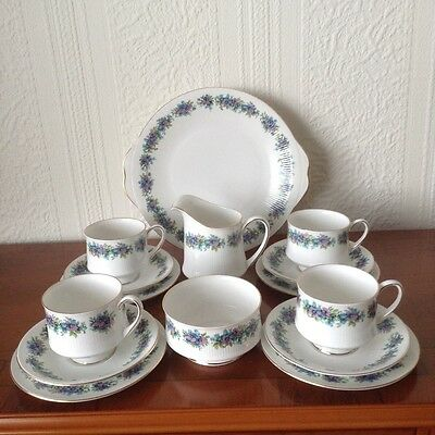 A very pretty 15 peice Royal Standard Carnival part tea set.