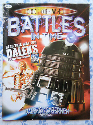Doctor Who Battles in Time Dual Magazine Special, Tardis Tin & Set of 18 Cards.