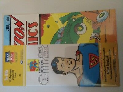 Action Comics #1 United States Postal Service Commemorative Reprint 1st Superman
