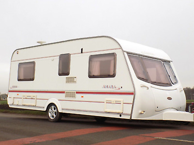 4-berth caravan COACHMAN AMARA / 2003 / FIXED BED / 100% DAMP FREE