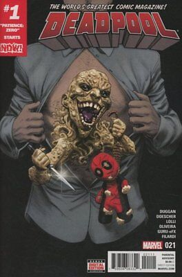 Deadpool (Vol 4) # 21 Near Mint (NM) (CvrA) Marvel Comics MODERN AGE