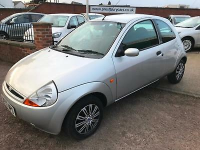 2007 Ford Ka 1.3  Style Climate.Silver.1 Owner,33000 miles,Air con,CD