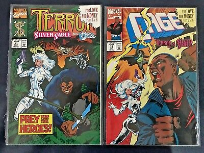Terror Inc / Cage / Silver Sable - For Love nor Money 1-6 complete MARVEL Comics