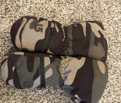 Boys 2T-4T Perfect Condition Burton Mittens Waterproof Extremely Warm