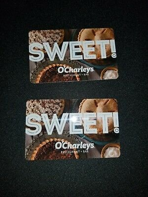 2 O'Charley's $25 gift cards ($50 total)