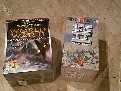 WWII In Color WW2 The War In Europe History Channel NEW VHS Documentary Movies