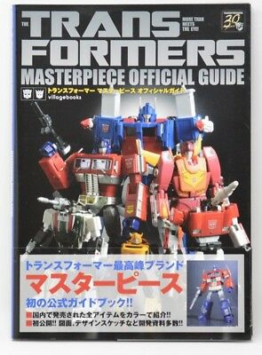 Transformers 92 Pages MP Masterpiece Optimus Prime Grimlock Official Guide Book