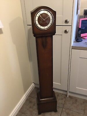 Bentima Grandaughter Clock Made in England Has chimed but No Key 1930/40s