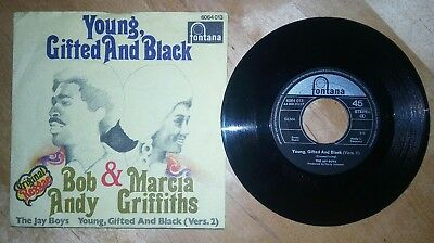 BOB ANDY & MARCIA GRIFFITHS**young giftet and black**german**rare
