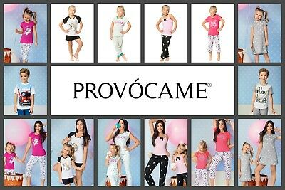 Provocame Children's Girls and Boys Pajamas Mommy and Me Sleepwear