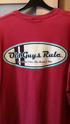 3538f57c MENS OLD GUYS Rule Navy Logo T-shirt Size XL New With Tags - £3.50 ...