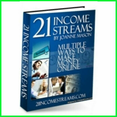 21 Income Streams PDF eBook with Master Resell Rights Pdf Format With MRR