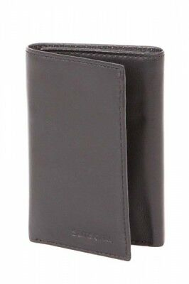 NEW Samsonite Rfid Blocking  Trifold Leather Wallet - in Black -  Wallets &