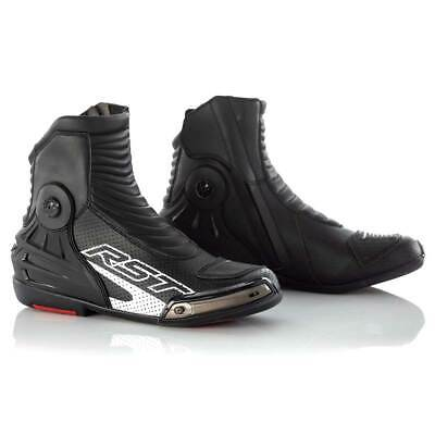 RST Tractech Evo 3 Short CE Leather Boots Black