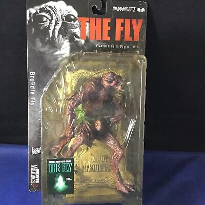 THE FLY McFarlane Action Figure 2000 Movie Maniacs 3 SEALED Brundle Fly