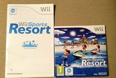 Wii Sports Resort Game For Nintendo Wii