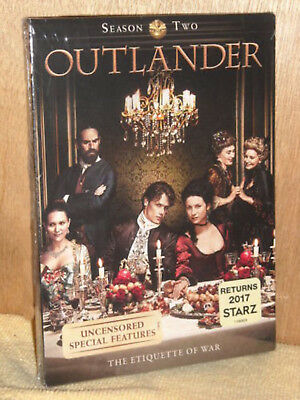 Outlander Season Two 5-Disc DVD Set Rare Canadian Version - Brand New Sealed