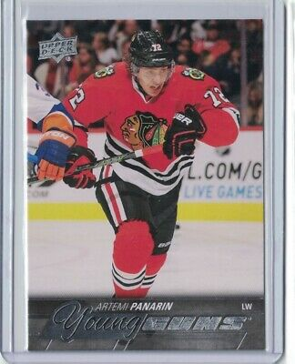 2015-16 Ud Young Guns Yg Artemi Panarin Columbus Blue Jackets Rookie Rc 221