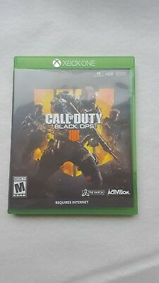 Call of Duty: Black Ops 4 (Microsoft Xbox One, 2018)