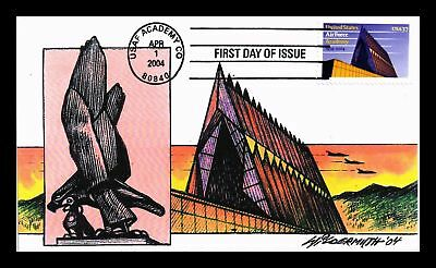 Dr Jim Stamps Us Air Force Academy Fdc Wildermuth Limited Edition Cover
