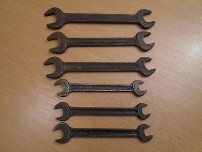 Vintage Superslim Spanners - Made In England