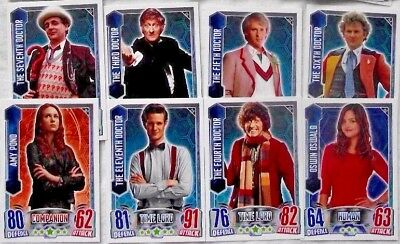 Bundle Lot of 140+ Doctor Who Alien Attax Regular Common Base Trading Cards 2012