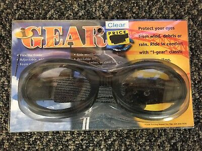Motorcycle ATV Goggles Clear