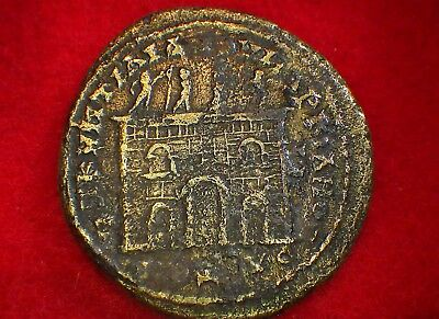 """Ancient ROMAN COINS Collections: """"very rare"""" SEPTIMIUS SEVERUS with family"""