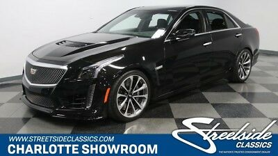 2017 Cts -- Performance Lux, Superchargd 6.2L V8, 640Hp, 8Spd Auto, Xfer Warranty, Like New!
