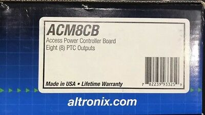 altronix ACM8CB Access power controller **brand New** Lot Of 4
