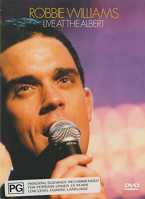 Robbie Williams - Live At The Albert Hall (Dvd)
