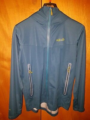 40b986dd918 RAB TORQUE softshell Jacket Mens Medium - £75.00