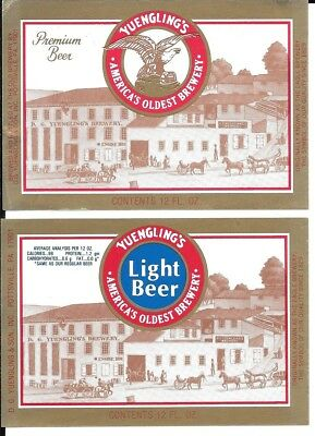 2 Different Yuengling Labels