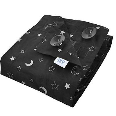 The Gro Company Gro Anywhere Blind - Black Blockout Blind for Baby & Kid Rooms