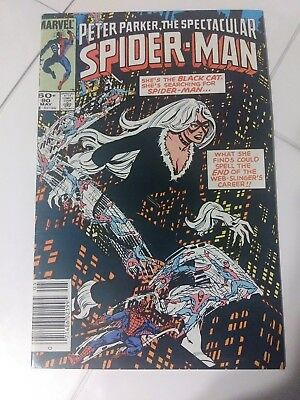 Peter Parker The Spectacular Spider-Man #90, Mark Jewelers Insert, Newstand