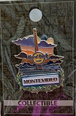 HRC Hard Rock Montevideo, Uruguay City Icon Pin New Cafe