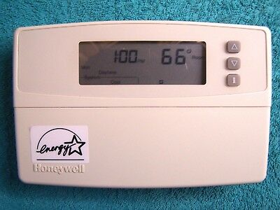 Honeywell CT3600A4444 Programable Thermostat CT3600A Beige