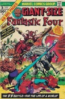 Fantastic Four Giant-Size (Vol 1) #3 ( Vryfn moins ( Vfn Marvel Comics Ame